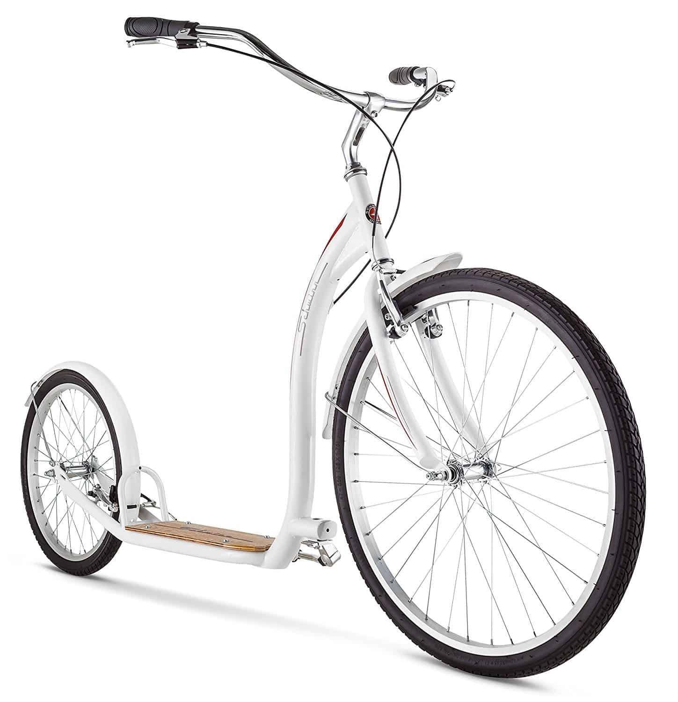 schwinn adult shuffle scooter white colour