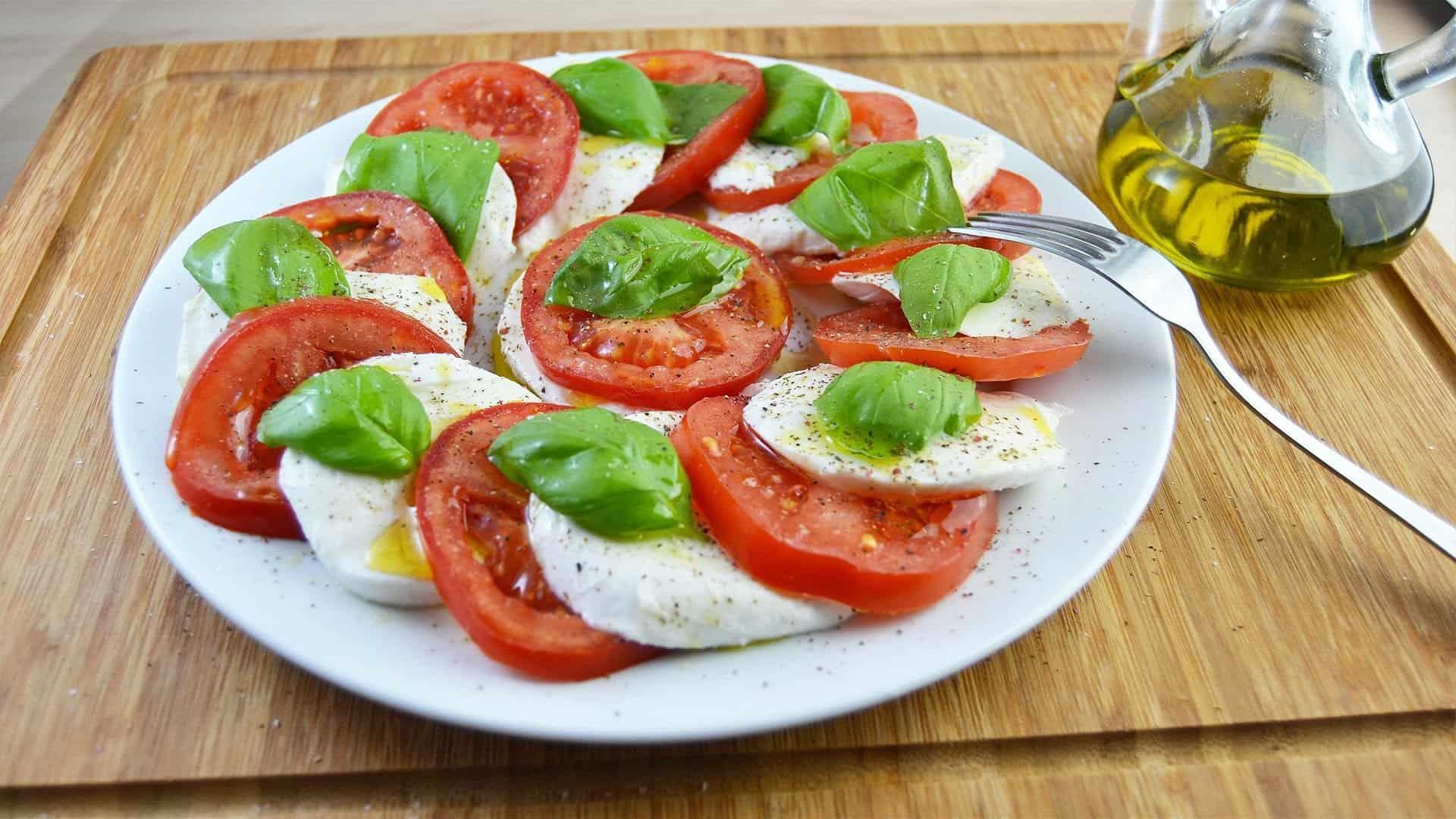 Salad Tomatoes Mozarella