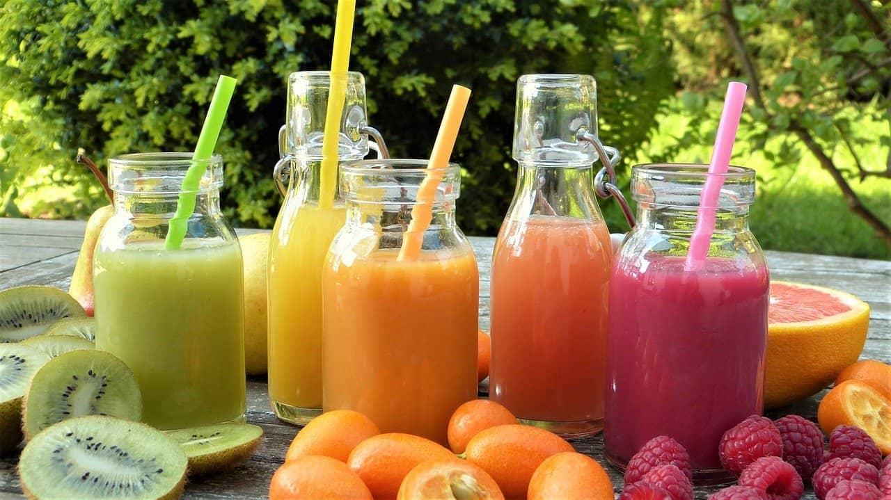 juices different colors