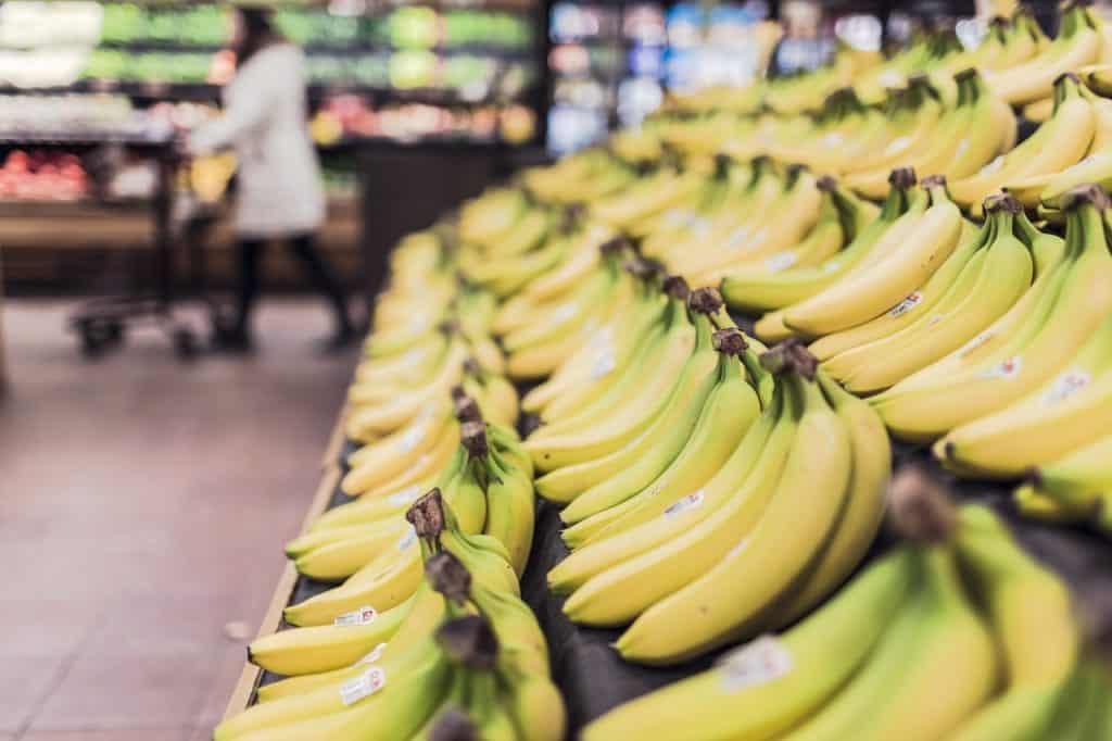cycling and bananas