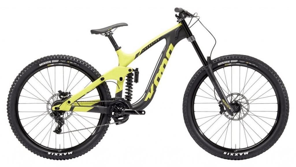 Kona Operator - Great Downhill bike